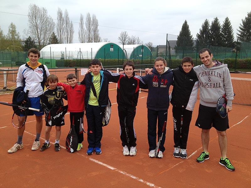 Stage tennis multisport Center Parc