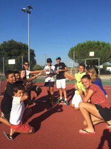 Stage tennis tournoi montpellier, st bres